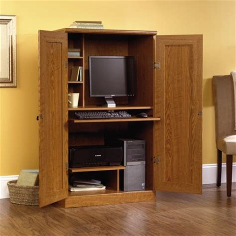 Find The Sauder Orchard Hills Computer Armoire At Walmart Computer Armoire Walmart