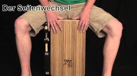 cajon tutorial cajon tutorial spieltechnik showeffekte youtube