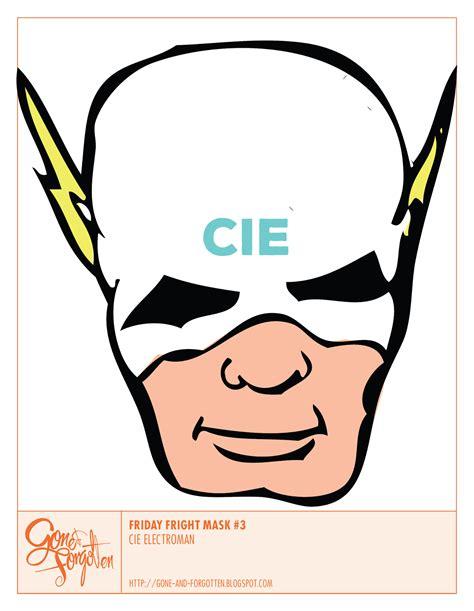Masker Rans forgotten friday fright mask cie electroman