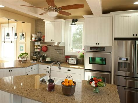 Kitchen Seating Ideas by 30 Bright And White Kitchens Hgtv