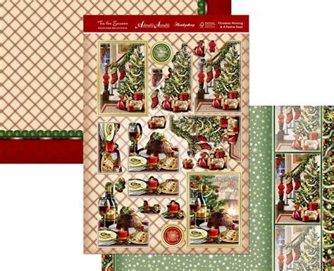 Hunkydory Decoupage - hunkydory tis the season collection moonstone
