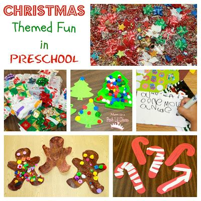 christmas themes preschool fine motor candy canes
