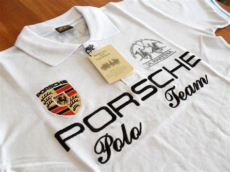 La Martina Porsche by La Martina Argentina Porsche Team Mens Polo Shirt