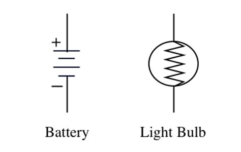 How To Make Light Bulb In Alchemy by Schematic For Battery Cell Symbol