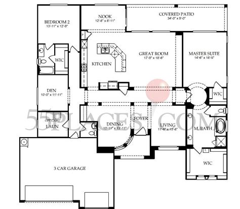 sun city anthem floor plans regence floorplan 2849 sq ft sun city anthem at merrill ranch 55places