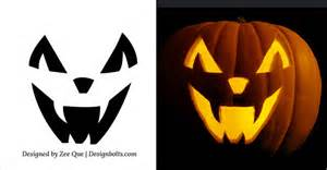 15 free printable scary halloween pumpkin carving stencils