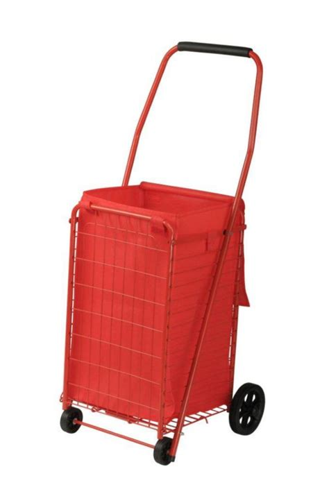 sandusky 66 lbs folding shopping cart the home depot canada