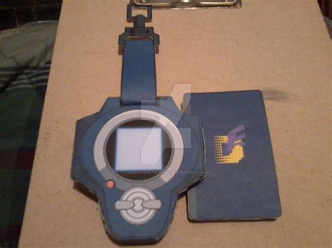 Digivice Papercraft - ryo s d power digivice papercraft by supervegeta71290 on