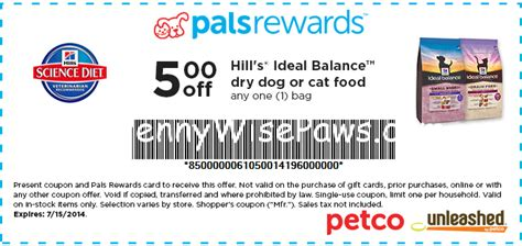 dog food coupons bj s hill s science diet dog food coupons directorygala