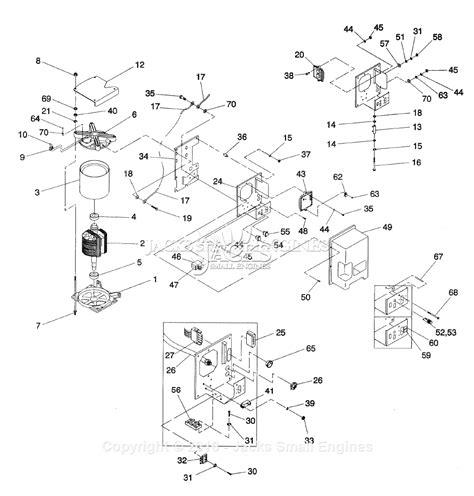 2 parts diagram generac 862 2 parts diagram for alternator panel