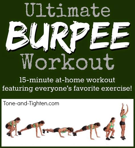 13 best images about workout burpees on
