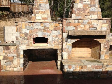 Oven Fireplace by Pizza Oven And Outdoor Fireplace Yelp