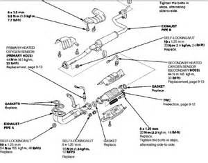 2000 Honda Civic Exhaust System Diagram O2 Sensor Locations Hondacivicforum