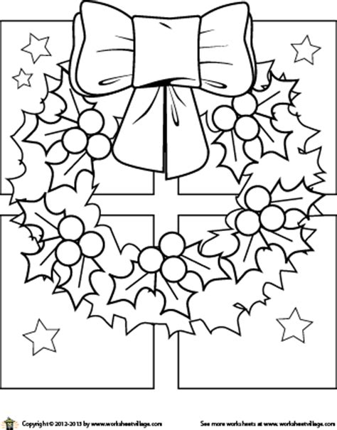 coloring page of christmas wreath fiesta wreath coloring pages coloring pages