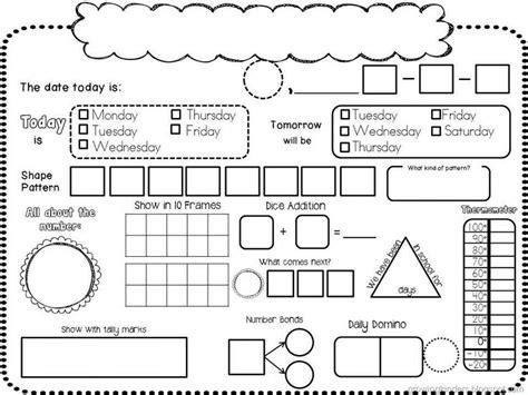 printable kindergarten journal 17 best ideas about printable blank calendar on pinterest