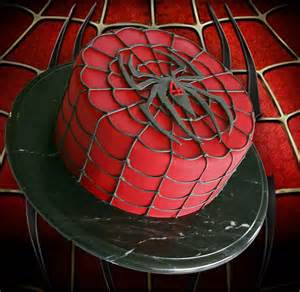 spiderman cake cake cupcakes and cookies