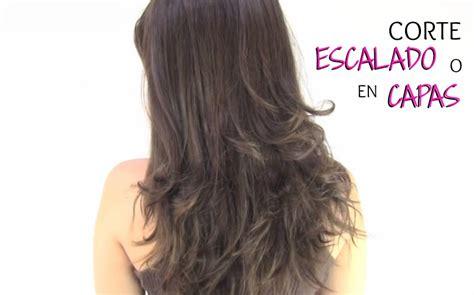 como cortar el cabello corto tutoriales de peinados como cortar el pelo escalado