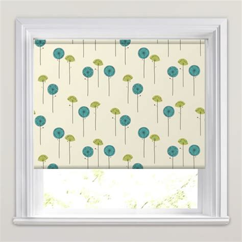 green patterned roller blind luxury white teal olive green poppy patterned roller blinds