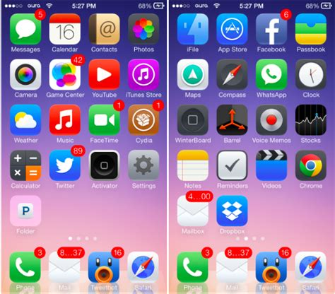 theme rose cydia ios 8 the 12 best ios 7 themes for iphone