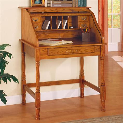 small oak roll top desk ellie small roll top desk