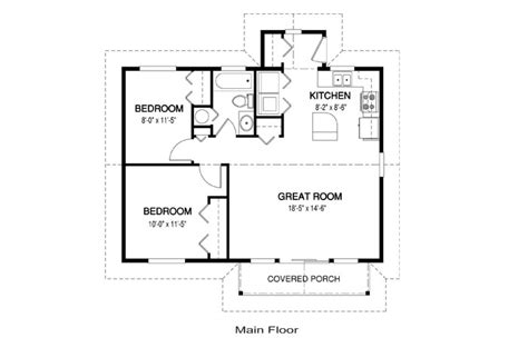 simple one story floor plans and house plans linwood