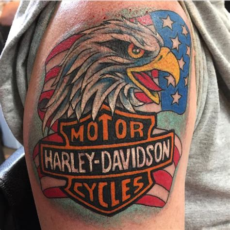 harley tattoo 85 best biker designs meanings for
