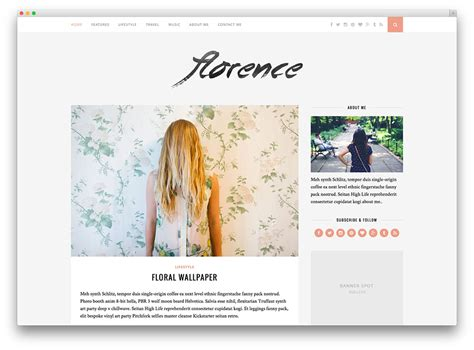 blog themes design 20 best pinterest style wordpress themes 2017 colorlib