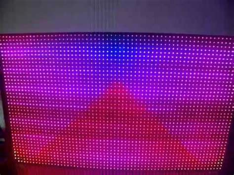 Lu Led Tirai L Tirai Led Curtain L White 16x16 rgb led matrix doovi