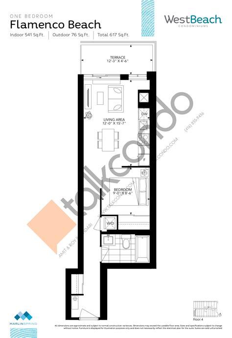 beach condo floor plans westbeach condos talkcondo