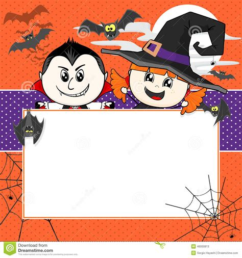 Halloween Invitation Stock Vector - Image: 46000813 About:blank Free Halloween Clipart
