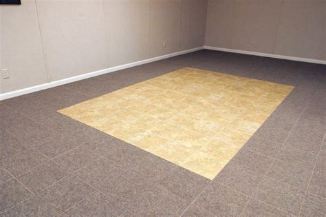 Waterproof Basement Flooring Basement Floor Tiles In Florissant Springfield St Charles St Louis Waterproof Basement
