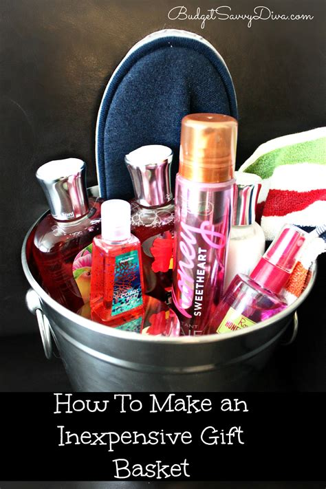 cheap gift baskets how to make an inexpensive gift basket budget savvy