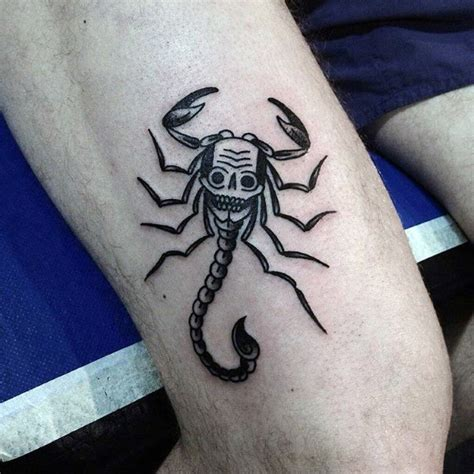 scorpion tattoo for men 70 scorpio designs for astrological sign ideas