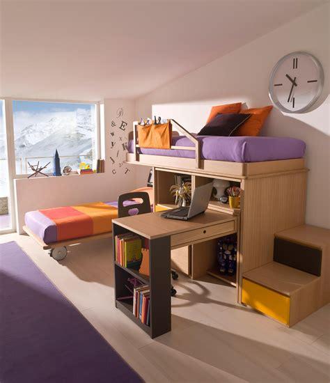 camera  letto castello  scaletta contenitore marzorati
