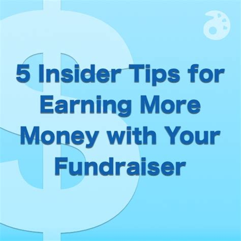 secrets to big money fundraising next level nonprofit fundraising using human motivation storytelling and partnership to increase charity donations books 5 insider tips for earning more money with your fundraiser