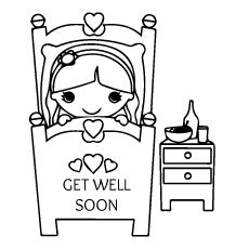 printable coloring pages get well cards get well soon baby coloring pages get well cards