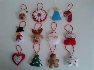 adornos para el arbol de navidad en patchwork