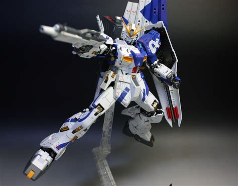 wallpaper nu gundam mg 1 100 nu gundam ver ka painted build improved