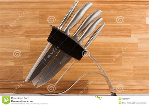 set of kitchen knives royalty free stock photo image 785475 series of images of kitchen ware knife set stock image