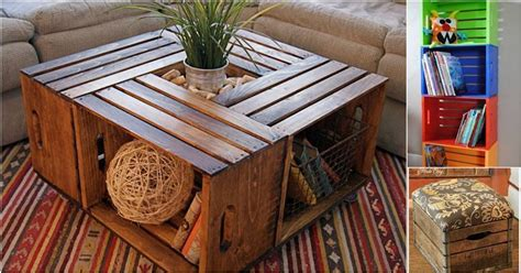 Decorating Ideas Using Wooden Crates 16 Creative And Sustainable Ideas For Decorating With