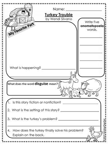Turkey Trouble Worksheet Answers by Best 25 Turkey Trouble Ideas On Turkey Songs