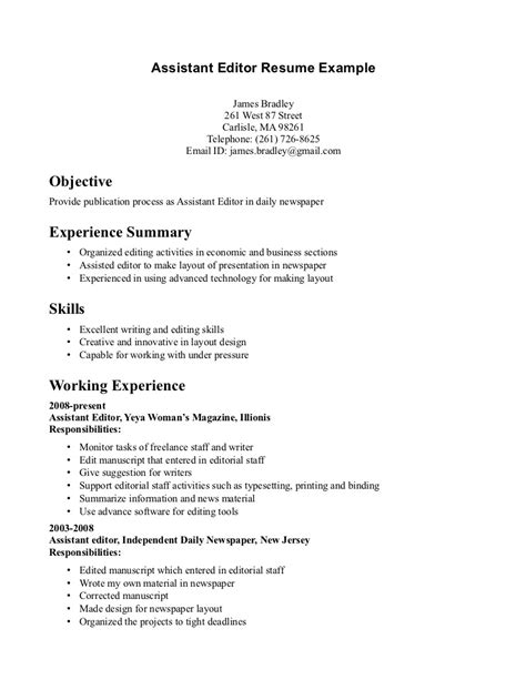 Copy Editor Resume Sle by Colorful Copy Editing Resume Photos Universal For