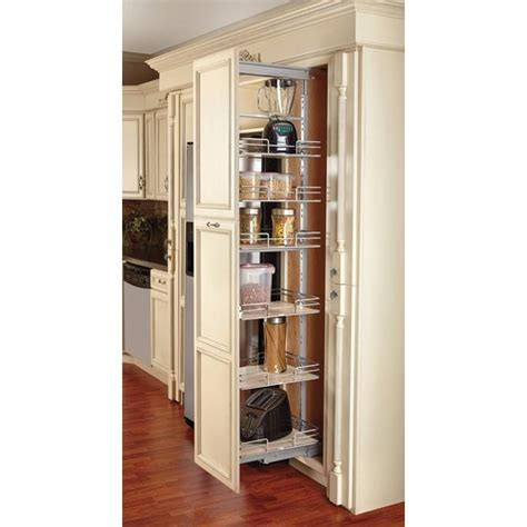 adjustable pantry drawer slides rev a shelf 5273 14 mp extra tall pullout maple pantry