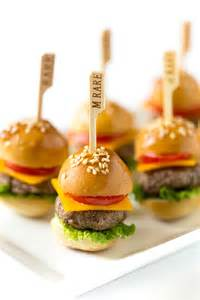 Party food how to make mini cheeseburgers pizzazzerie com appetizer