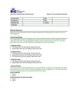 How To Type Minutes From A Meeting Template by Minutes Of Meeting Template 9 Free Sle Exle