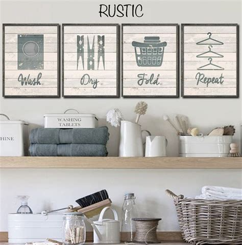 Decorations For Laundry Room Best 25 Laundry Room Wall Decor Ideas On