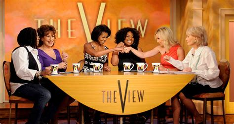 michelle obama on the view michelle obama shows her warmer side on the view the
