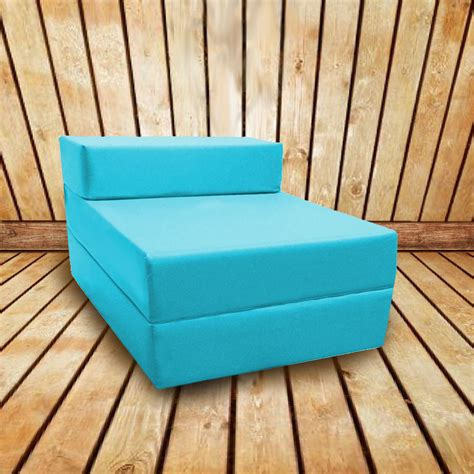 Outdoor Futon Mattress turquoise waterproof outdoor z bed futon sleepover guest