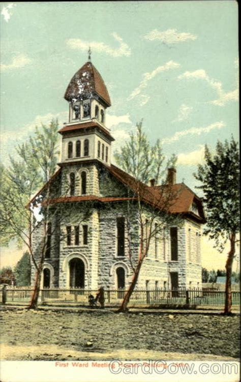 first ward house first ward meeting house rexburg idaho united states