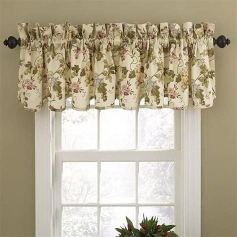 Waverly Valances Window Treatments waverly window treatments in kitchen window treatments
